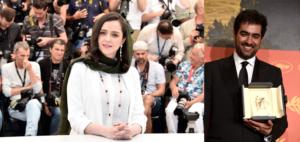 taraneh alidoosti shahab hosseini cannes film festival ترانه علیدوستی شهاب حسینی جایزه فیلم فستیوال کن